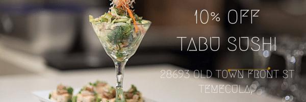 It's Tabu Sushi