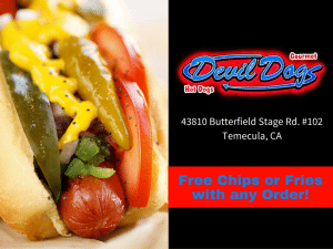 Devil Dogs Gourmet Hot Dogs
