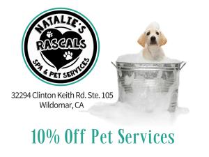 Natalie's Rascals Pet Spa and Pet Services