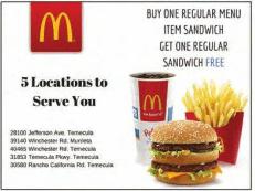 McDonald's- Temecula (Hwy 79)